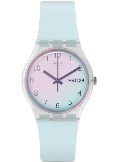 Swatch Ge713 Bayan Kol Saati Mavi